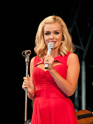 English: Katherine Jenkins live at Clumber Par...