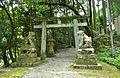 Katsuragi-mikumari-jinja torii.JPG