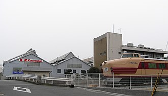 Kawasaki Heavy Industries Rolling Stock Company - The Kawasaki Heavy Industries factory in Hyōgo Prefecture, Japan