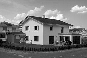 Gachnang - Newly built house in Kefikon village