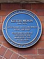 Keith Moon (1946-1978) legendary rock drummer with 'The Who' performed here at the site of the Marquee Club in the 1960s.jpg