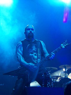 Kerry King - Kerry King live with Slayer, March 2011
