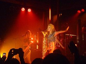 """Blah Blah Blah (Kesha song) - Kesha performing """"Blah Blah Blah"""" at the Get Sleazy Tour"""