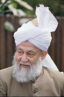 Mirza Tahir Ahmad caliph of the Ahmadiyya