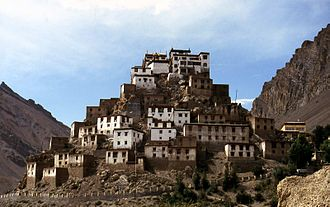 Lahaul and Spiti district - Ki-Gompa, Spiti