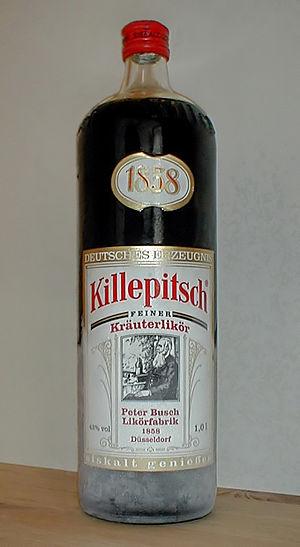 Killepitsch - Image: Killepitsch flasche