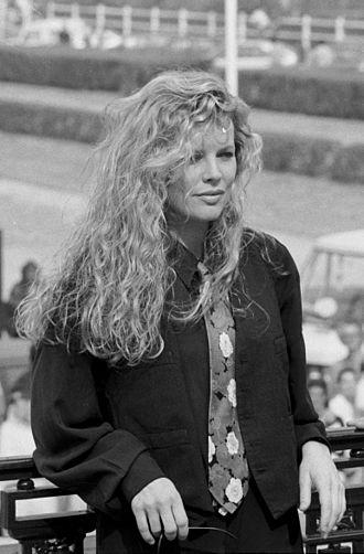 Kim Basinger - Basinger at the Deauville Film Festival in 1989