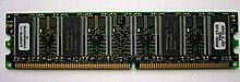 Un modulo di memoria DIMM