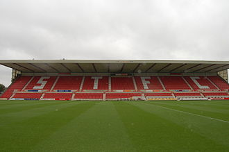Wiltshire - The County Ground, Swindon is the home of Swindon Town, the only football league club in Wiltshire.
