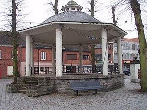 Lommel - Image: Kiosk Lommel