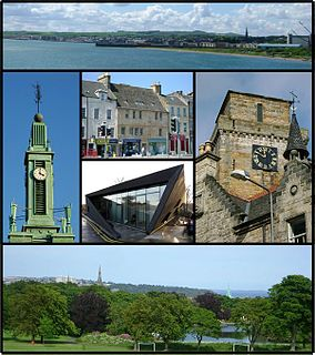 Kirkcaldy town and former royal burgh in Fife, Scotland