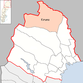 Kiruna Municipality Municipality in Norrbotten County, Sweden