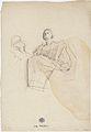 Klimt - Hygieia nach links sitzend, die Schale mit der Schlange des Asklepios.jpeg