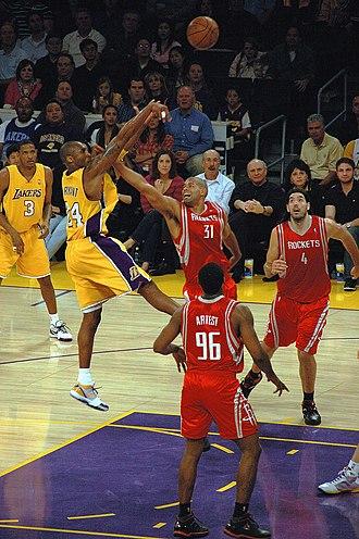 Shane Battier - Battier defending Kobe Bryant.