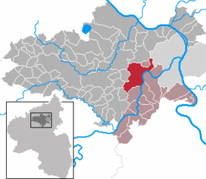 Kobern-Gondorf - Image: Kobern Gondorf in MYK