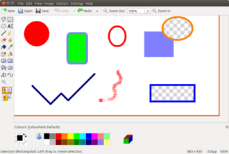 KolourPaint - Image: Kolour Paint 4.13 (en)