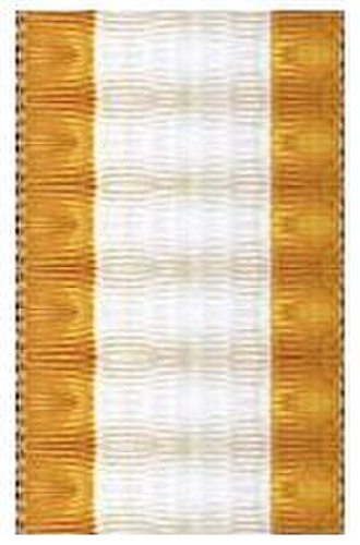 Royal Order of Cambodia - Ribbon during the colonial period (1899-1948)