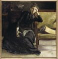 Konstnärinnan Eva Bonnier (Richard Bergh) - Nationalmuseum - 18510.tif