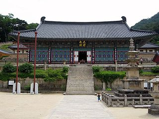Haeinsa Buddhist temple in Hapcheon County, Korea