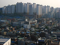 A view of Seongdong District