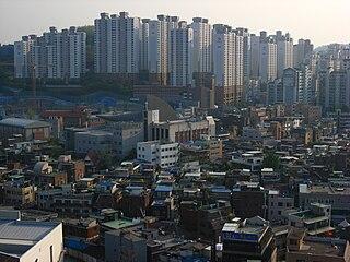 Seongdong District Autonomous District in Sudogwon, South Korea