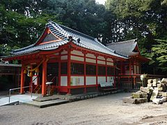 Koriyama Hachiman Shrine Isa.JPG