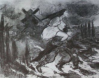 Viy (story) - Sketch for the French edition of Viy, by Constantin Kousnetzoff