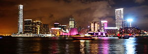 Kowloon Peninsula - Image: Kowloon Panorama