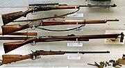 Krag-Jørgensen, Krag-Petersson, Jarman M1884 and Remington M1867