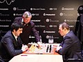 Kramnik - Mamedyarov and Karpov, Candidates Tournament 2018.jpg