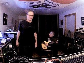 Steve Kravac - Steve Kravac in the studio, 2018