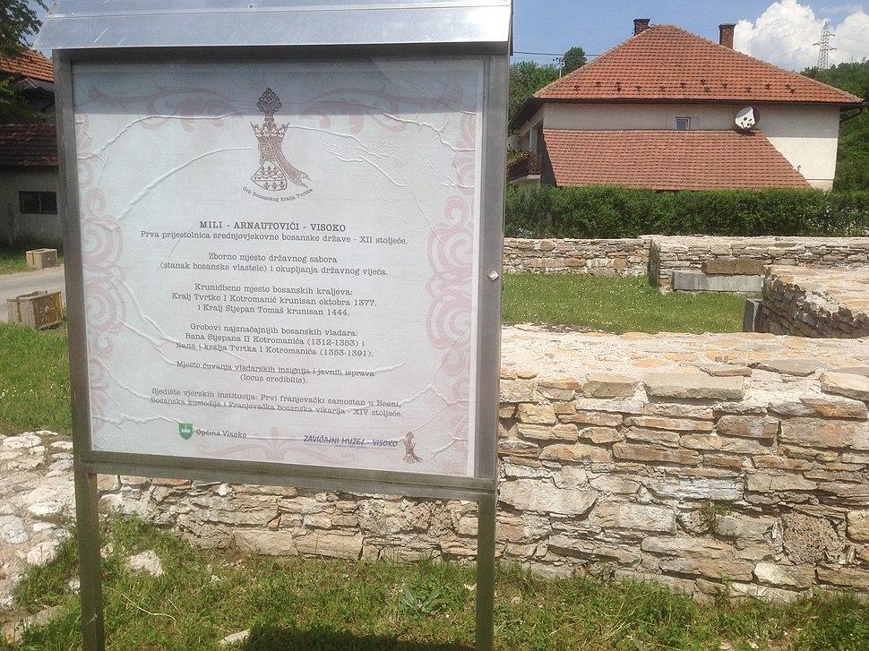 Krunidbeno mjesto bosanskih kraljeva 1