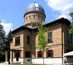 Kuffner Observatory - The Kuffner observatory's main building with the telescope dome