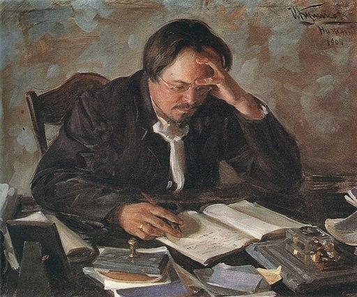 Kulikov Writer E.N.Chirikov 1904