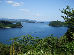 Kumano Bay in Kihoku