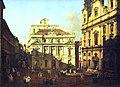 Kunsthistorisches Museum Wien, Canaletto, der Universitätsplatz.JPG