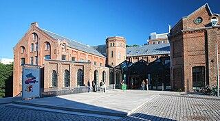 Norwegian National Academy of Fine Arts art school in Oslo