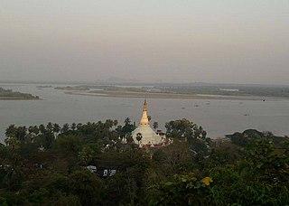 Mottama Town in Mon State, Myanmar