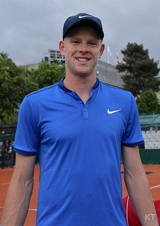 Kyle Edmund - Edmund at the 2016 French Open