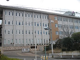 Kyoto Prefectual Nigashii-uji high school in Japan.JPG