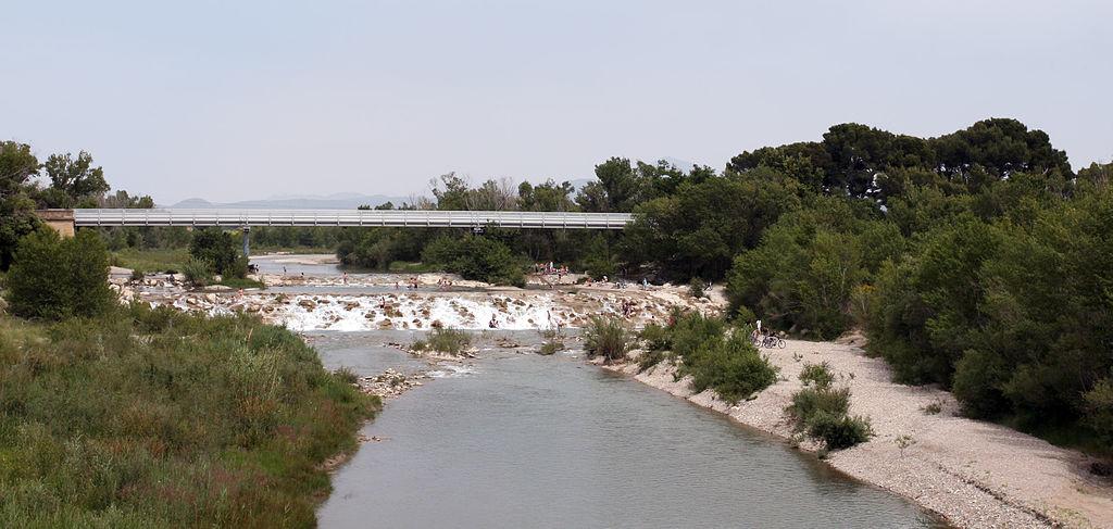 法國沃克呂茲省(Vaucluse),艾居厄河畔卡馬勒(Camaret-sur-Aigues)