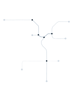 Graph of the LA Metro Network