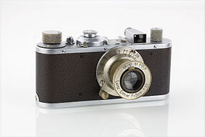 Leica Standard - Leica Standard chrome (serial number 244297), 1937, front view