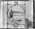 LITHOGRAPH, Paul Emmert, 1853 - Our Lady of Peace Cathedral, 1183 Fort Street, Honolulu, Honolulu County, HI HABS HI,2-HONLU,21-8.tif