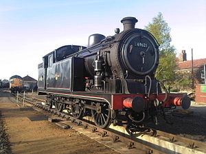 GER Class L77 - The preserved N7/4 No. 69621 (LNER 7999) at Dereham, Mid-Norfolk Railway, 2009