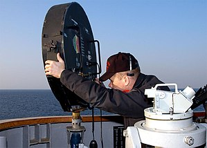 Sonic weapon - A Long-Range Acoustic Device (LRAD) in use on the USS ''Blue Ridge''