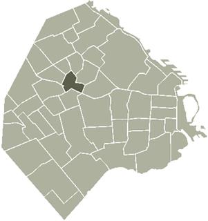 La Paternal, Buenos Aires Barrio in Buenos Aires, Argentina