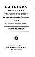 La Ilíada de Homero, Tomo I (Ignacio García Malo) portada.jpg