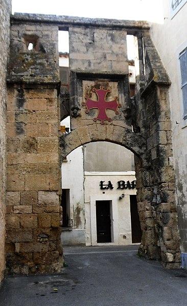 Porte de la Barbacane à La Palme