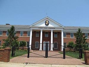 La Plata, Maryland - Charles County Courthouse